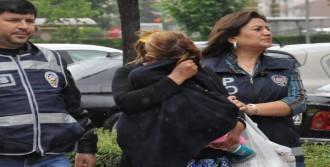Eşini Bıçakla Yaralayan Kadın Tutuklandı
