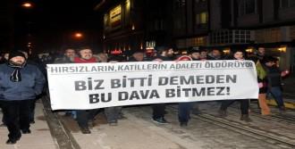 Eskişehir'de Ali İsmail Korkmaz Yürüyüşü