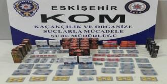 Eskişehir'de Kaçakçılık Operasyonu