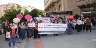 Kadınların Taciz Ve Tecavüz Protestosu