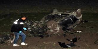 Eskişehir'de Otomobil Şarampole Uçtu: 1 Ölü, 1 Yaralı