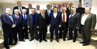 Esnaf, CHP'yi ziyaret etti