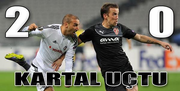 Beşiktaş 2-0 Skenderbeu