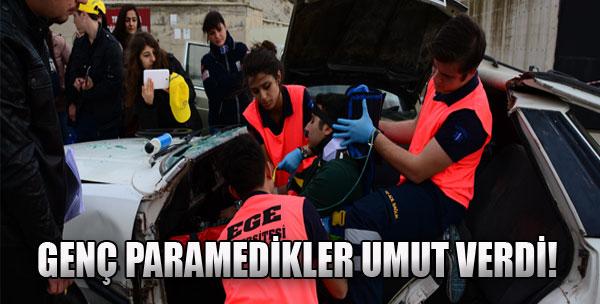 Genç Paramedikler Umut Verdi