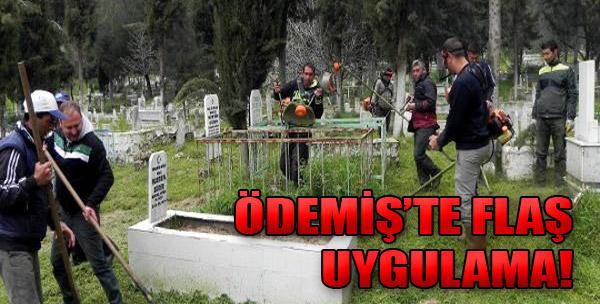 Mezarlıkları Mahkumlar Temizliyor!