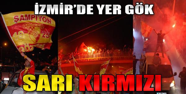 İzmir'de Sarı Kırmızı Gece