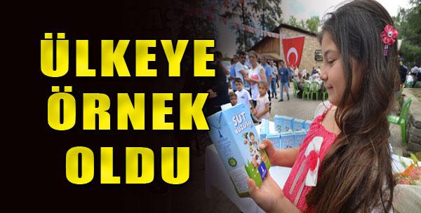Tüm Türkiye'ye Örnek Oldu