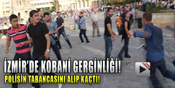 İzmir'de Kobani Gerginliği!