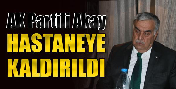 AK Partili Akay Uçakta Fenalaştı
