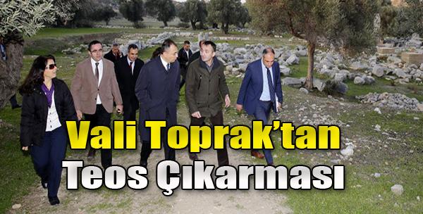 Vali Toprak, Seferihisar'a Gitti