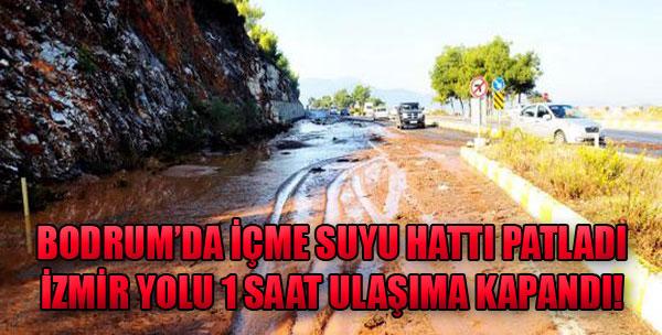 İzmir Yolu 1 Saat Ulaşıma Kapandı