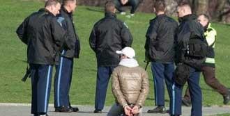 İlk Şüpheli Gözaltında Ve Yaralı