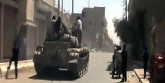 Suriye'de Çatışma Anları