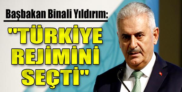 'Türkiye Rejimini Seçti'