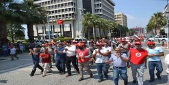 10 Bin İşçi Cuma Günü Grevde