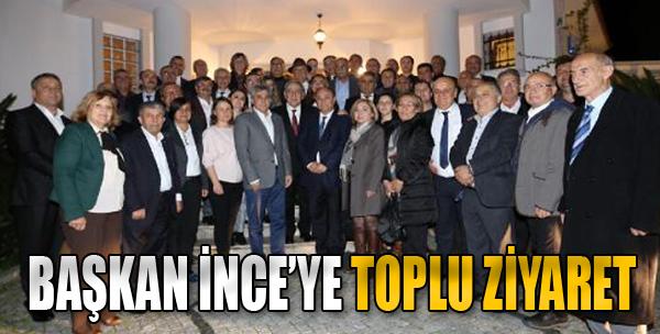 Başkan İnce'ye, Toplu Ziyaret