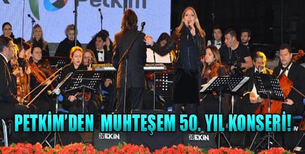 Petkim'den Muhteşem 50. Yıl Konseri!