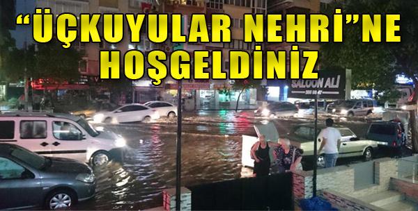 İzmir 15 Dakikada Göle Döndü