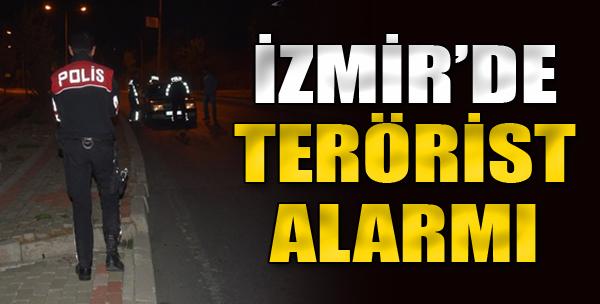 İzmir'de Terörist İhbarı Polisleri Alarma Geçirdi