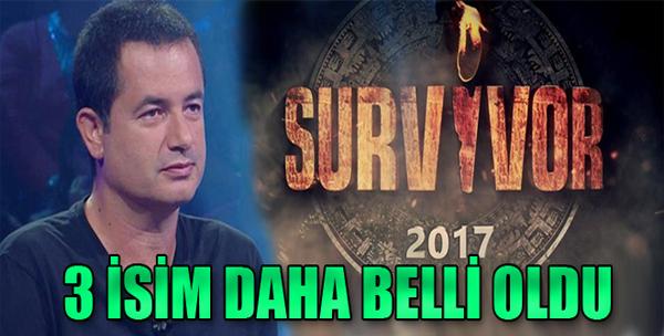 Survivor 2017 Ünlüler Takımı Şekilleniyor!
