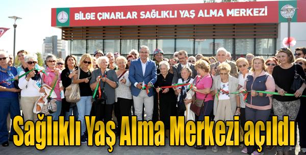 Karşıyaka Sağlıklı Yaş Alma Merkezi Açıldı