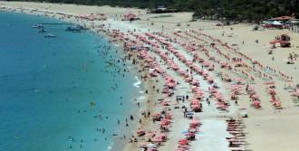 Fethiye Plajlarında Bayram Yoğunluğu