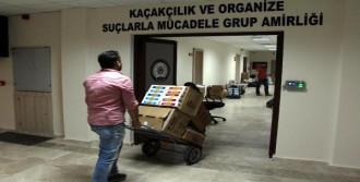 Fethiye'de Kaçak Tütün Operasyonu