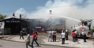 Fındık Kabukları, Fabrikada Yangın Çıkardı