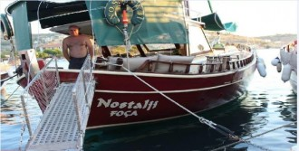 Foça Midilli Arası Tekne Seferleri
