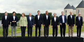 G8 Liderleri Aile Fotoğrafında