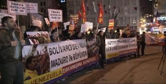 Galatasaray'da Venezuela'ya Destek