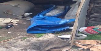 Garajda Poşete Sarılı Ceset Bulundu