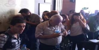 Gazdan Etkilenenler Metro Ve Kafeye Sığındı