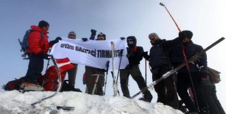 Gazeteciler Ağrı Dağı'nda Zirve Yaptı
