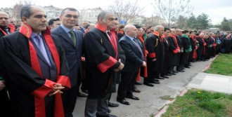 Gaziantep Adliyesi'nde Savcı Kiraz İçin Tören