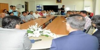 Gaziantep'te Değerlendirme Toplantısı