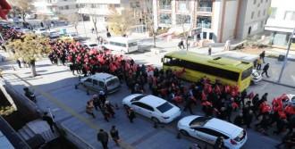 Gaziantep'te ABD'ye Yürüyüşlü Tepki
