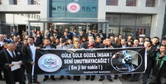 Gaziantep'te Tahir Elçi Protestosu