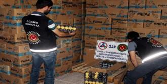 Gaziantep'te Kaçak Ampul Operasyonu