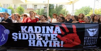Gaziantep'te Kadınlardan Şiddete Tepki