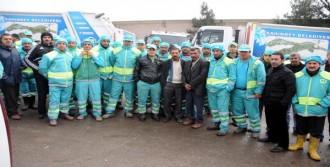 Gaziantep'te Temizlik İşçileri İş Bıraktı