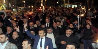 Gaziantep'te, Meşaleli Yürüyüş