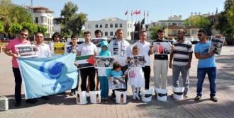 Gazze'ye Destek İçin Molozlu Eylem!