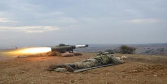 Gelibolu'da Tow, Milan Ve Eryx Silahlarının Atışları Yapıldı