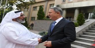 Genelkurmay Başkanı Akar, Al-Ghanim'le Görüştü