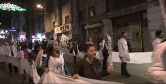 Gezi Hekimleri Kobani İçin Yürüdü