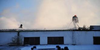 Gıda Fabrikasında Korkutan Yangın