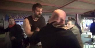 Dövülen Esnaf Taburcu Oldu
