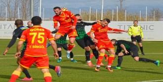 Göztepe, Hazırlık Maçında Akhisar Belediyespor'a Mağlup Oldu