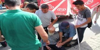 Aracın Çarptığı Yaya Ağır Yaralandı